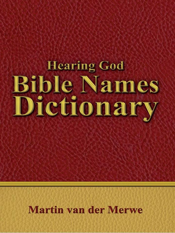 hearing-god-bible-names-dictionary